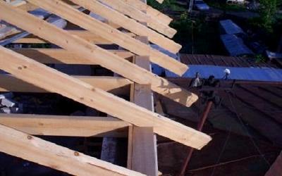 Устройство двухскатной крыши. Особенности конструкции