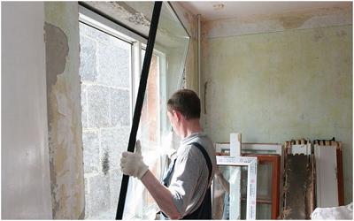 Демонтаж окна своими руками качественно и быстро