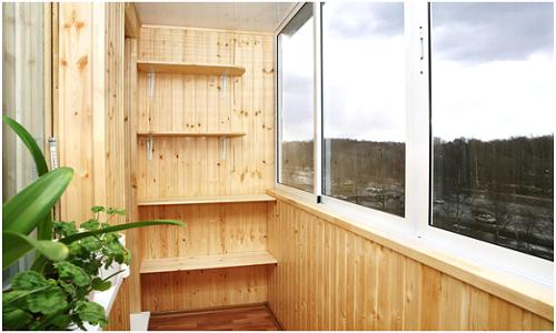 Как самому отделать балкон быстро и просто