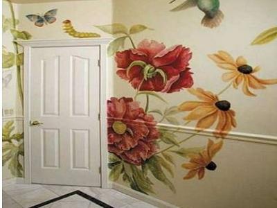 Как перенести рисунок на стену