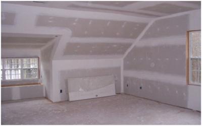 Как выровнять стены в деревянном доме: выбираем гипсокартон