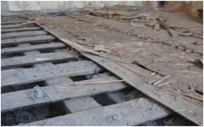 Замена деревянного пола на бетонный быстро и качественно